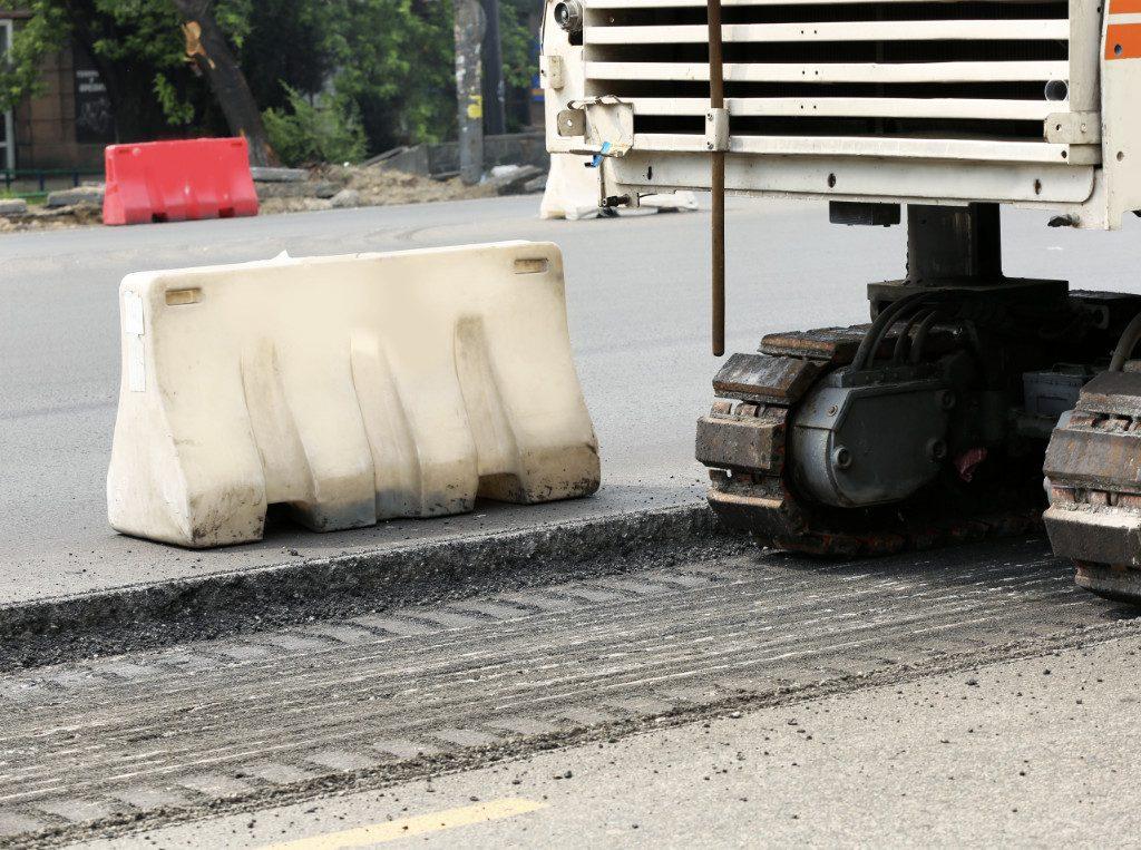 asphalt grinding