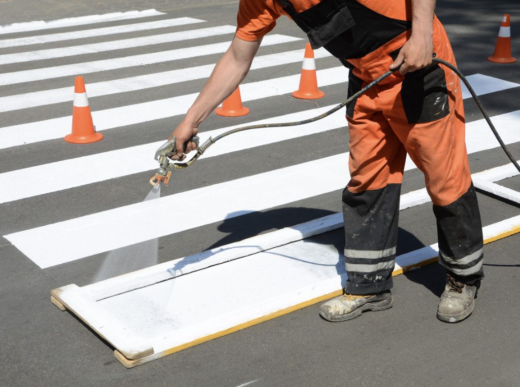 crosswalk painting