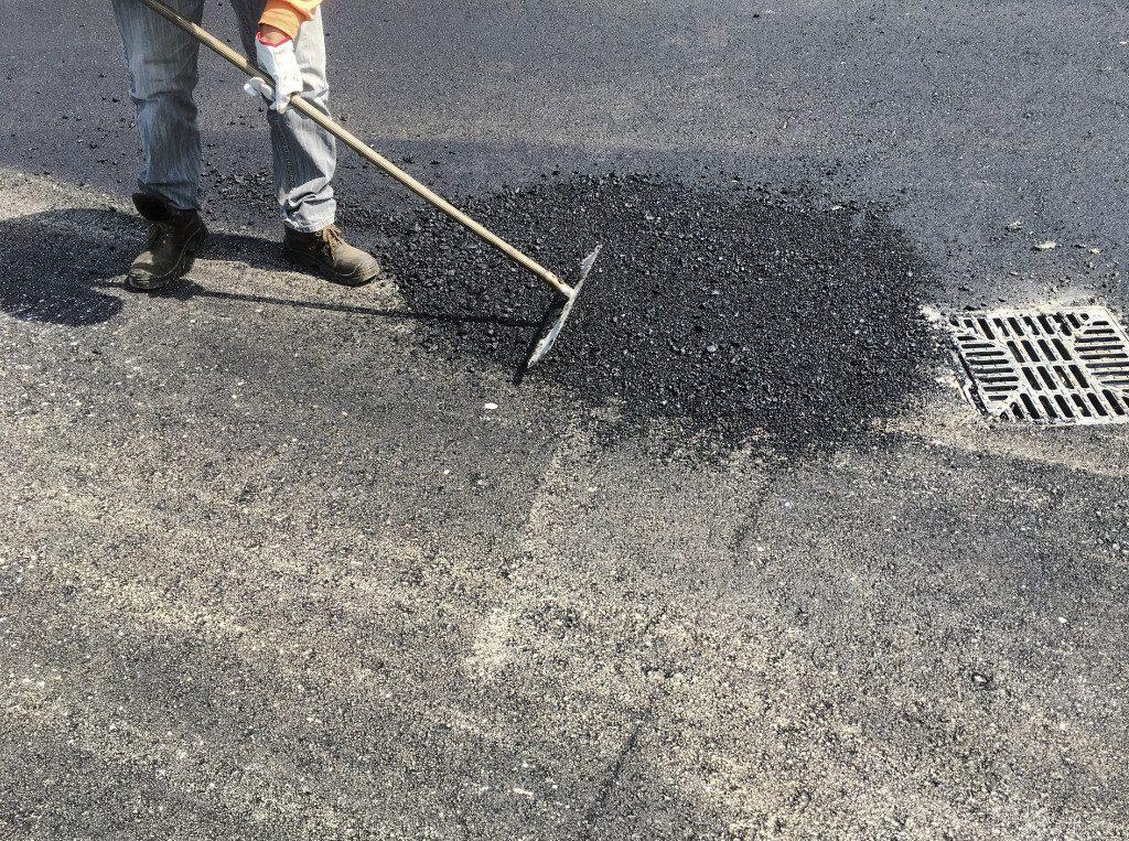 pothole smoothing